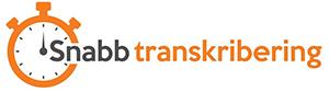 Snabb transkribering Logotyp